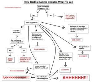 Boozer Flow Chart