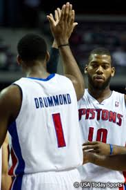 Can Greg Monroe and Andre Drummond Revitalize Basketball in Detroit?