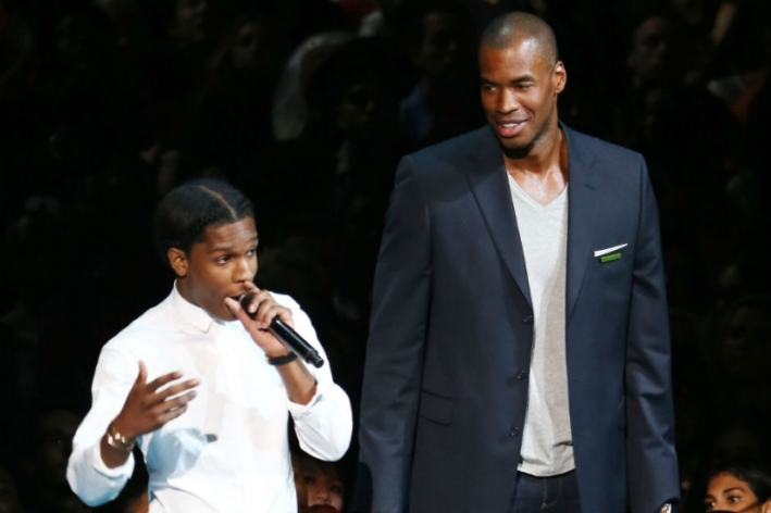A$AP Rocky was uncomfortable being next to Jason Collins at the VMAs.