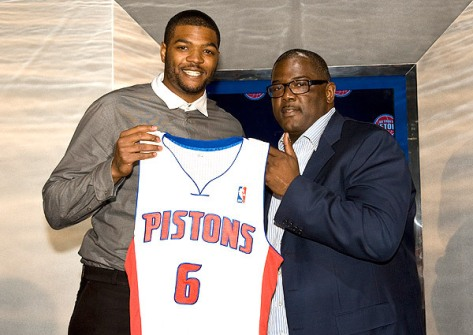 Josh Smith's contract hasn't worked out as planned in Detroit but you aren't paying him!
