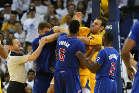 clippers warriors fight
