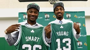 The Celtics hope for big contributions from their rookies