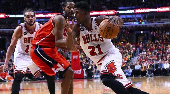 Jimmy Butler and the Pick and Roll