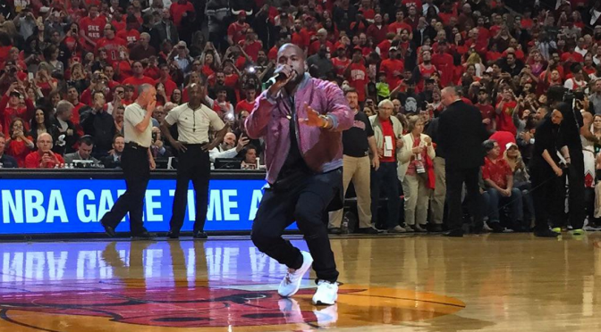 Kanye West Performed DURING Game 4