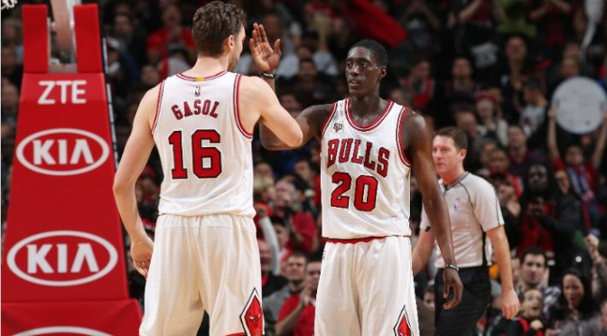 """BULLet Points: Bulls take out Raptors with return of the """"Bench Mob"""""""