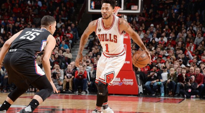 BULLet Points: Maskless Rose helps lead Bulls to ugly victory over Clippers