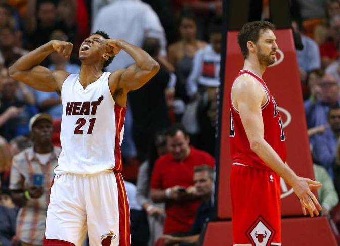 BULLet Points: Heat go into video game-mode, smoke Bulls