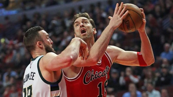 BULLet Points: Pau Gasol's triple double powers shorthanded Bulls