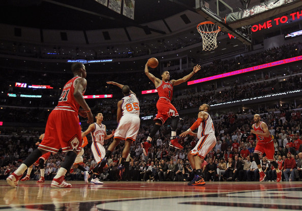 Bulls make out well in shocking, emotional Derrick Rose trade