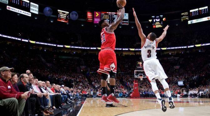 Note-A-Bulls: Bulls rip apart Blazers in Circus Trip opener