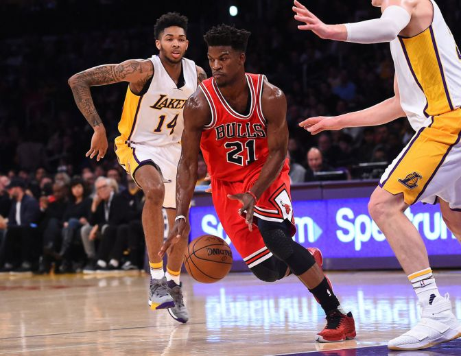 Note-A-Bulls: Butler drops 40 to carry Bulls to back and forth win over Lakers