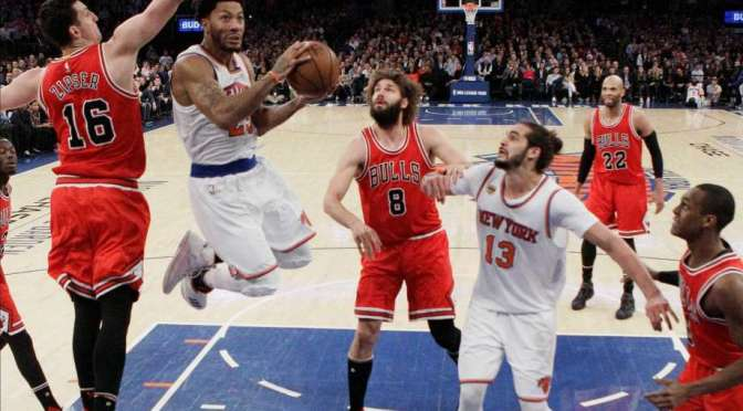"Note-A-Bulls: Short-handed Bulls fall to ""Rival"" New York Knicks 104-89, dropping their 3rd straight game."