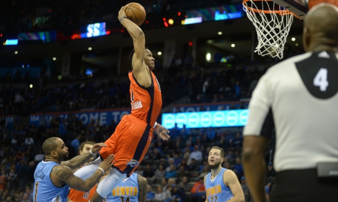 Russell Westbrook: the man, the myth, the triple-double machine