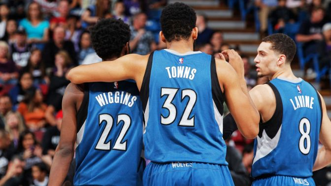The T'Wolves: Their future may be bright, but their present leaves something to be desired