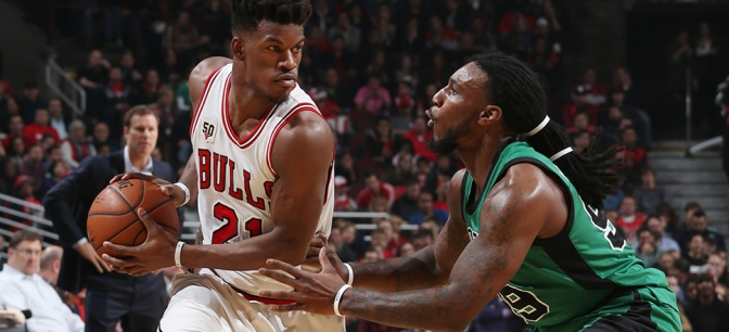 Note-A-Bulls: Bulls end the first half on a high note with gritty win over the Celtics
