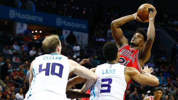 Note-A-Bulls: Bulls secure much-needed win over Hornets 115-109