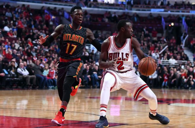 Note-A-Bulls: Bulls storm back in the 4th to ground the Hawks and move in to playoff position